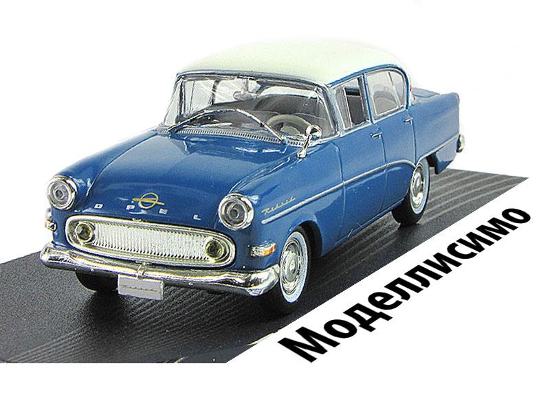 Opel REKORD PI 4-Doors 1957-1960 Blue/Crème