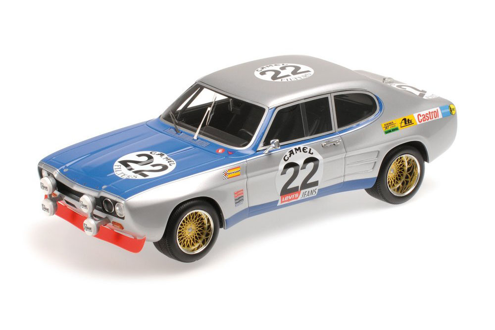 Ford Capri 1 RS 2600 Glemser/Soler-Roig Winner SPA 1971