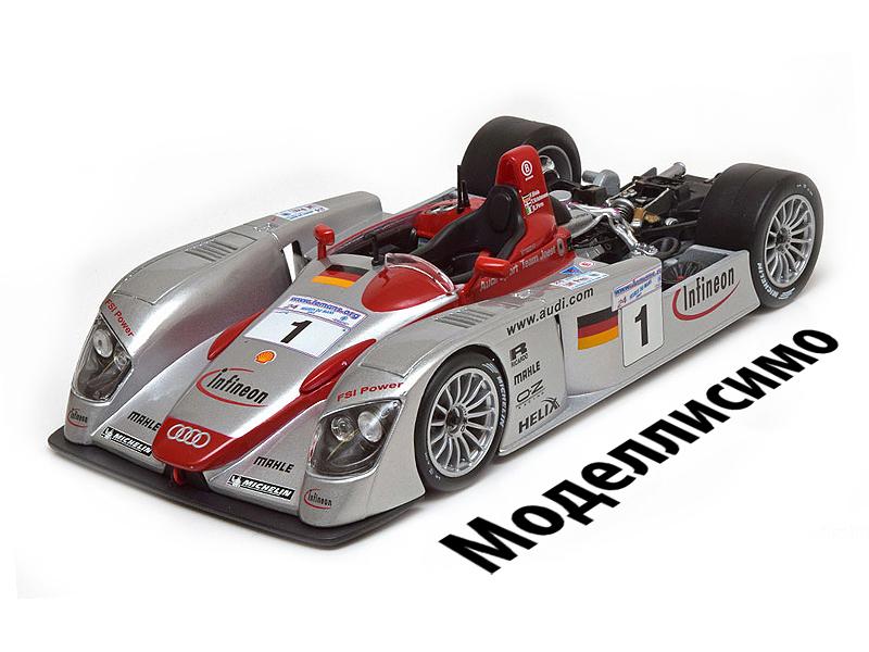 Audi R8 Winner Le Mans 2002 Biela/Kristensen/Pirro Limited Edition 1000 pcs.
