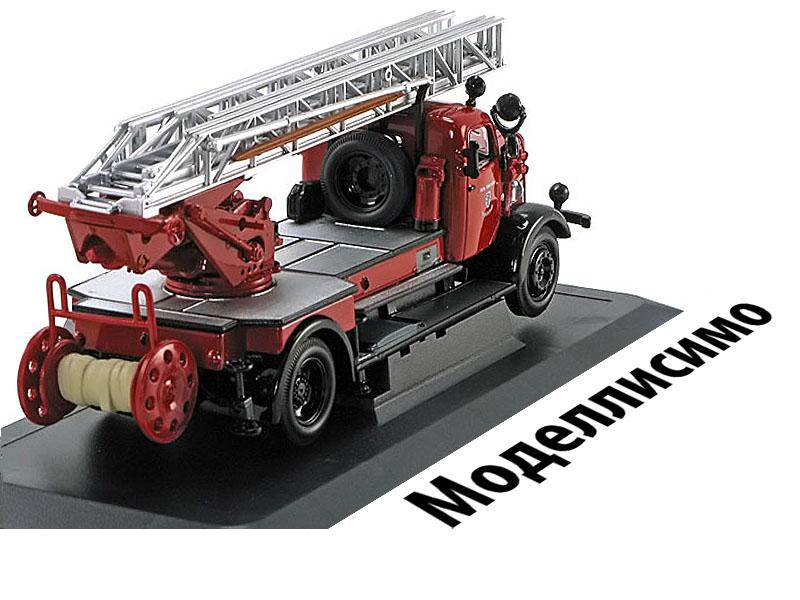 Mercedes L4500F Freiwillige Fire Truck Ingolstadt 1944 Red/Black