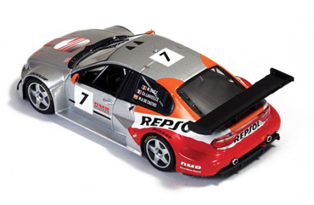 Seat Toledo GT №7 M. Duez-M-A. de Castro-C. Lavieille Test Day 24H de Francorchamps 2003
