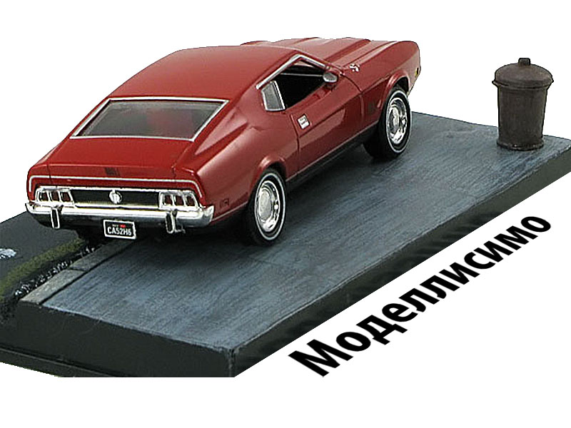 Ford Mustang Mach I -Diamonds Are Forever- 1971 Red