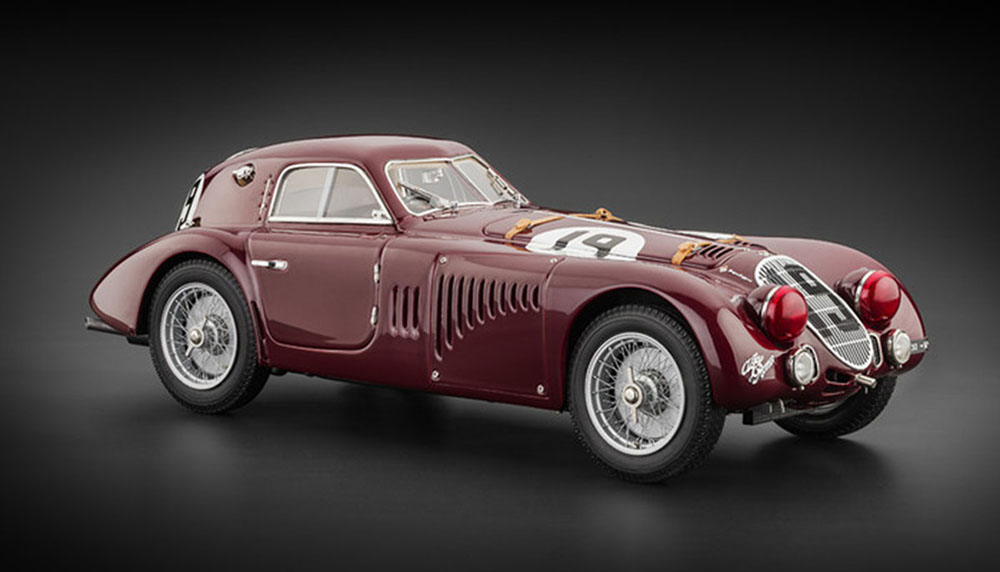 Alfa Romeo 8C 2900 B Speciale №19 Le Mans 1938 Sommer/Biondetti Limited Edition 3000 pcs.