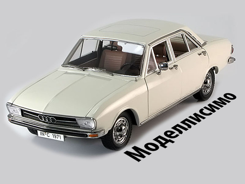Audi C1 100 1971 Beige