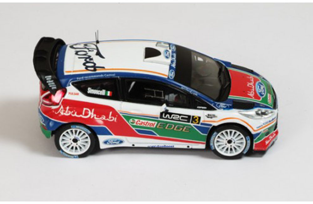 Ford Fiesta WRC №3 Marco Simoncelli UK Test Kirkbride Airfield 2011