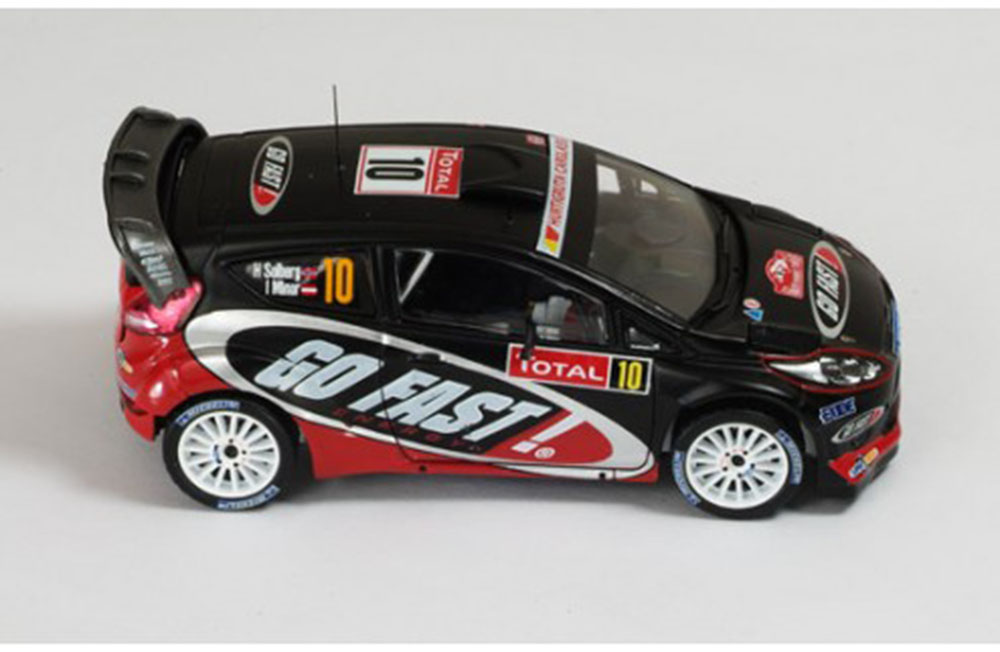 Ford Fiesta RS WRC №10 H.SOLBERG-I.MINOR Rally Monte Carlo 2012