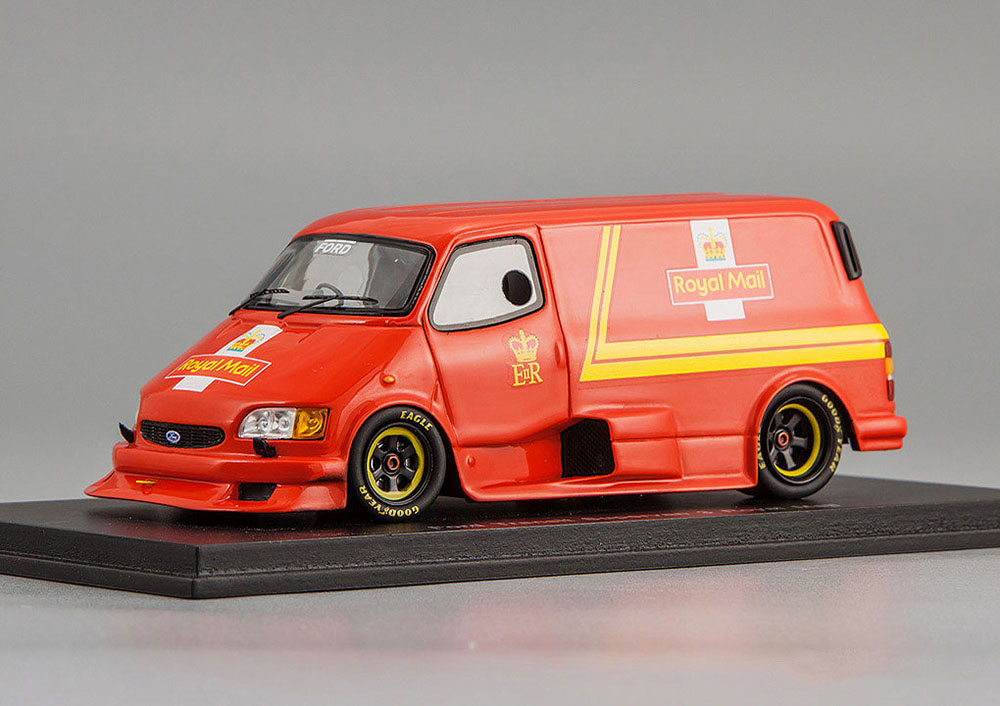 Ford Transit Supervan 3 Royal Mail 1995 Red