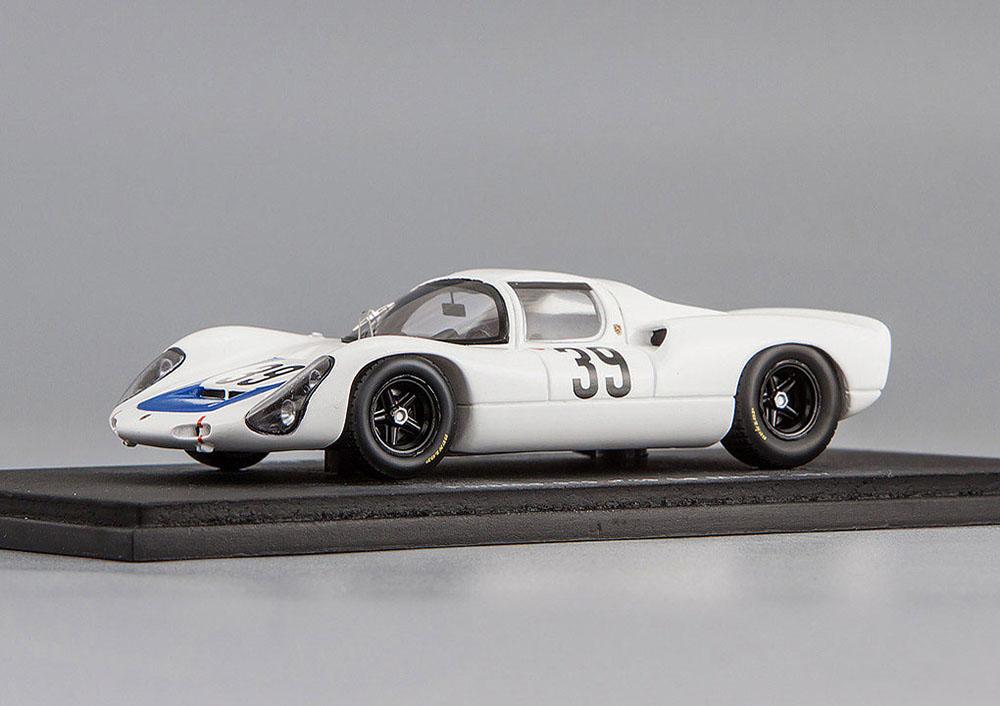 Porsche 910 №39 Le Mans 1967 Udo Schutz/Joseph Buzzetta White