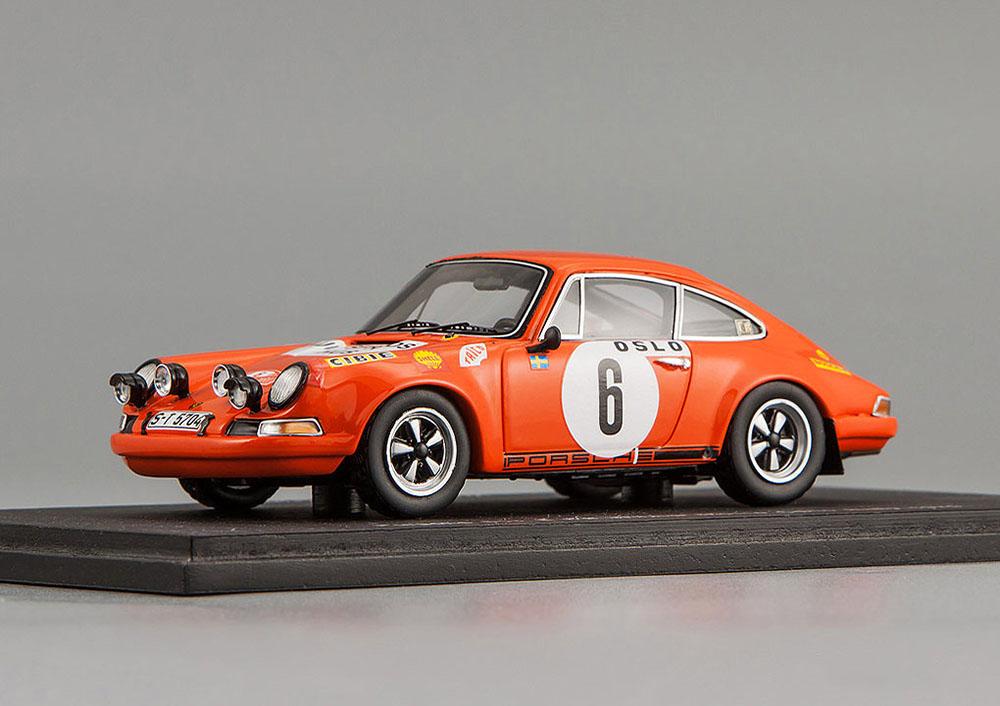 Porsche 911 S №6 Winner Monte Carlo Rally 1970 B. Waldegaard/L. Helmer