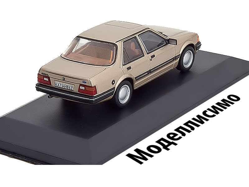 Ford Orion GL 1983 Metallic Beige